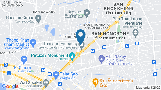 Phasouk Vien Chantra Hotel Map