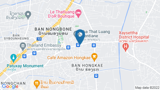 Thatluang View Hotel Map