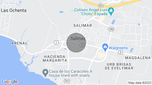 Salinas House (WIFI) - Puerto Rico's favorite stay! Map