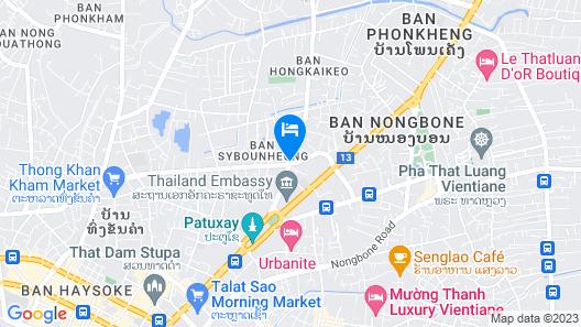 Cheuang 2 Hotel Map