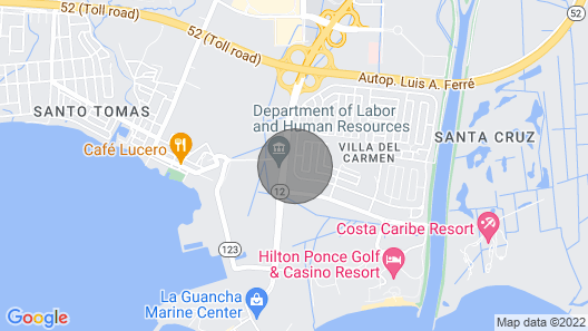 Ponce Vacation House Map