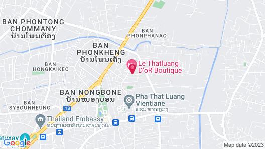 Le Thatluang d'oR Boutique Hotel Map