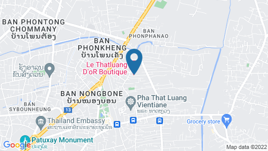 Le Thatluang d'oR Boutique Hotel Map