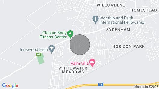 Sydenham Villa Gästehaus Map