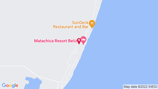 Matachica Resort & Spa - Adults Only Map