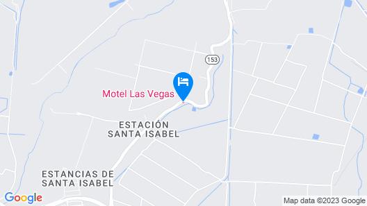 Motel Las Vegas Map