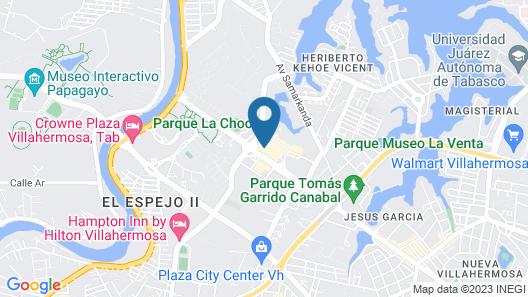 Villahermosa Marriott Hotel Map