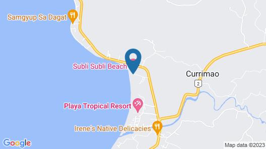 Coco Paradise Beach Resort Map