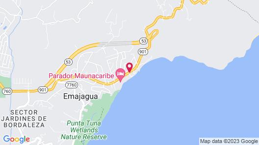 Parador MaunaCaribe Map