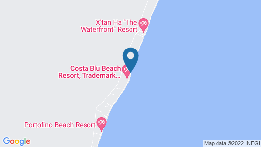 Costa Blu Beach Resort, Trademark Collection by Wyndham - Adults Only Map