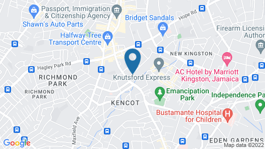 Hotel Four Seasons Map
