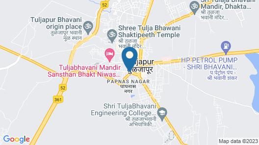 SPOT ON 48601 Shivneri Lodge Map