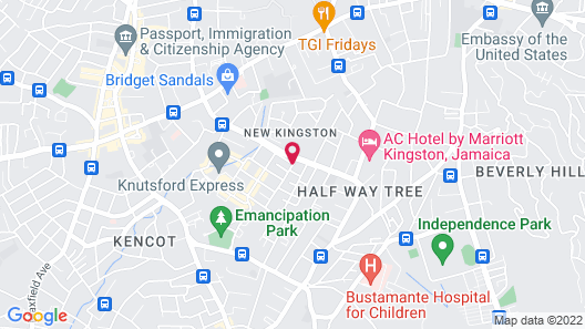 The Spanish Court Hotel Map