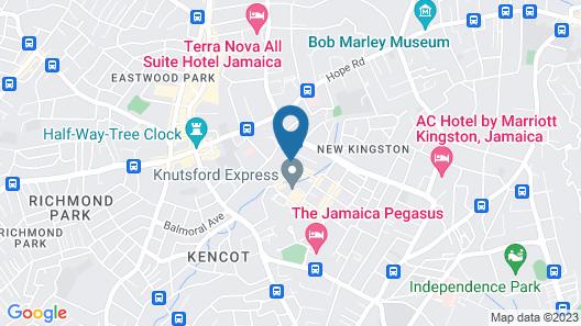 Indies hotel Map