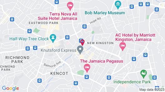 R Hotel Kingston Map