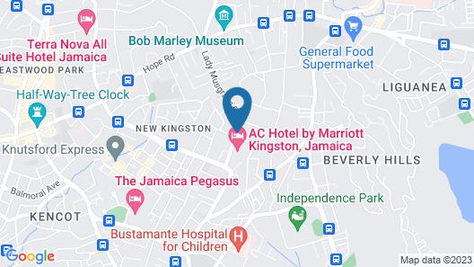 Eden Gardens Wellness Resort & Spa Map
