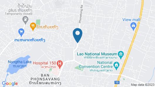 Vanhmaly Hotel Map