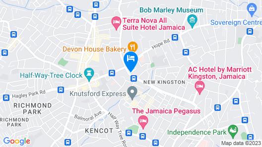 Pulse Rooms at Trafalgar Map