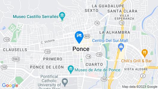 Ponce Plaza Hotel & Casino Map
