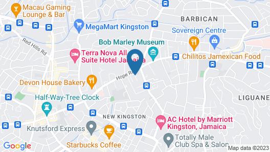 Shirley Retreat Hotel Map