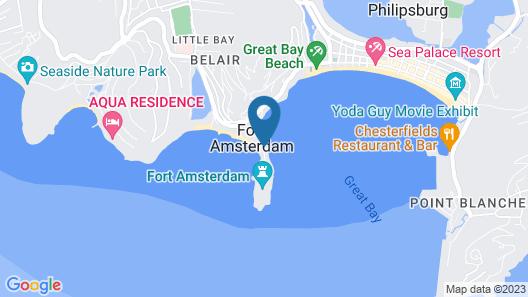 Divi Little Bay Beach Resort Map