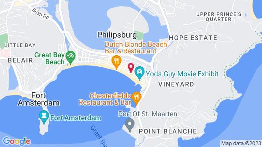 Holland House Beach Hotel Map