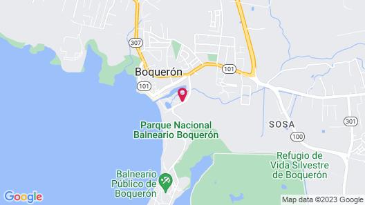 Aquarius Vacation Club at Boqueron Beach Resort Map