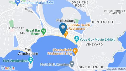 Sea View Beach Hotel Map