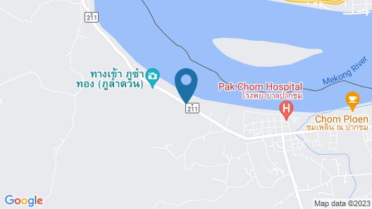 Rim Nam Kong Homestay & Campsite Map