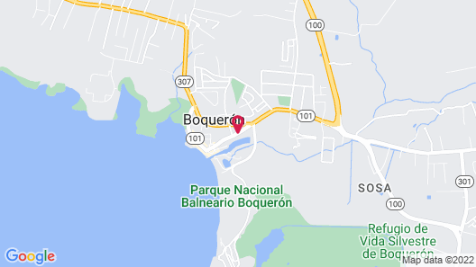 Cofresi Beach Hotel Map