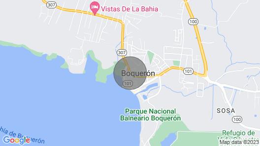 Luxury Villa Poblado, Boqueron, Wi-fi, A/C Map