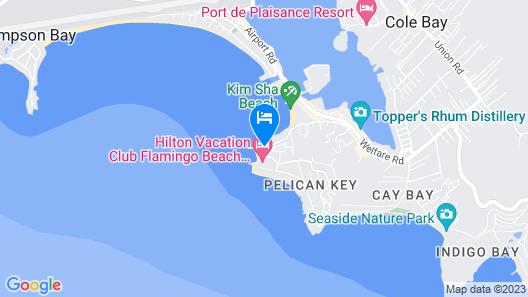 Simpson Bay Resort, Marina & Spa Map