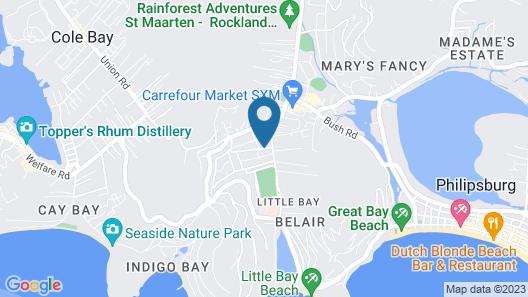 L'Esperance Hotel Map