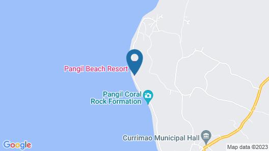 Pangil Beach Resort Map