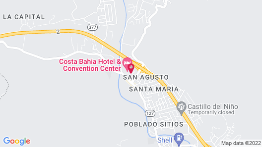 Costa Bahia Hotel & Convention Center Map