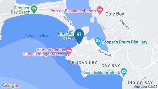 The Villas at Simpson Bay Beach Resort and Marina Map