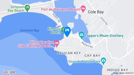 Atrium Beach Resort and Spa St Maarten a Ramada by Wyndham Map