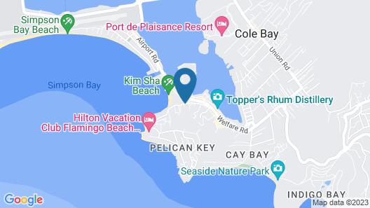 Simpson Bay Suites Map