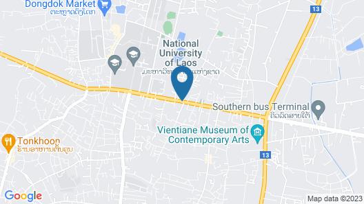 Phounsiri Hotel Map