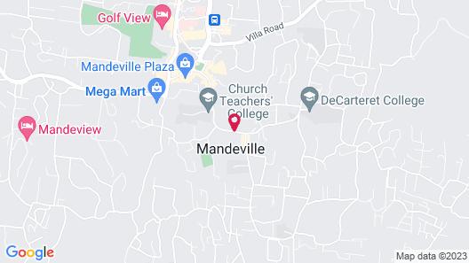 Mountain Top Villa Map