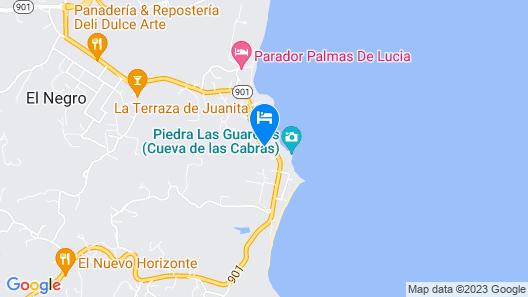 Parador Costa del Mar Map