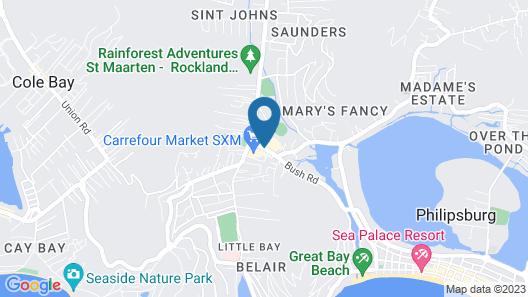 The Paradise Inn Map