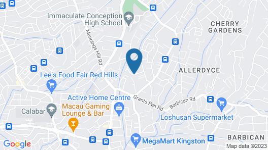 Casa Alexandria Guest Apartment Map