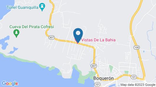 Vistas de la Bahia Map