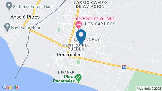 Hotel Vista de Aguilas Ecolodge Map