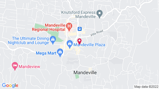 The Mandeville Hotel Map