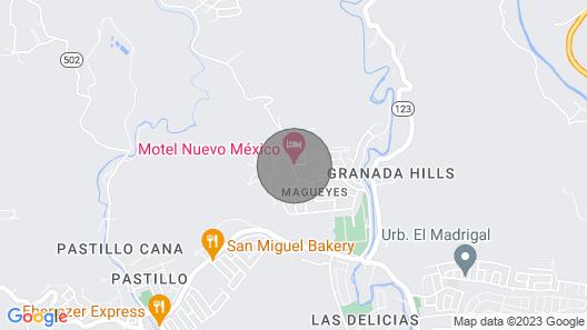 Hotel Nuevo Mejico, Queen Superior Jacuzzi Map