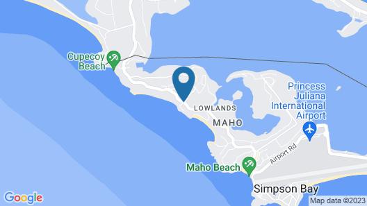 Savana at Porto Cupecoy Marina Map