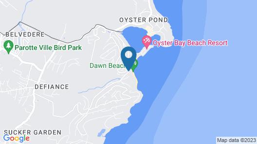 Dawn Beach Club Resort Sint Maarten Map