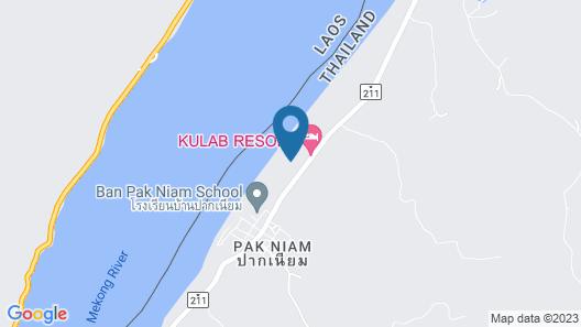 Mekong Riverside Resort & Camping Map